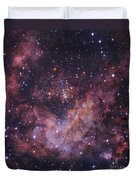 Westerlund 2 Star Cluster In Carina Duvet Cover