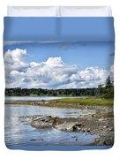 Western Bay - Oldhouse Cove Near Trenton Maine Duvet Cover