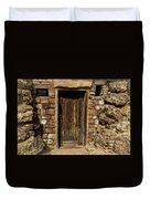 Western Door Duvet Cover