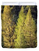 Western Larch Duvet Cover
