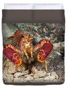 Western Lobster Duvet Cover