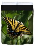 Western Tiger Swallowtail 2 Duvet Cover