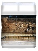 Empty Western Wall Duvet Cover