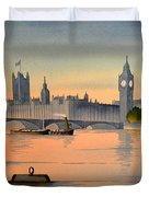 Westminster And Big Ben  Duvet Cover