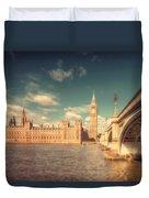 Westminster Big Ben Duvet Cover