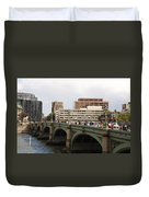 Westminster Bridge.  Duvet Cover