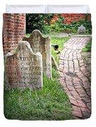 Westminster Burying Ground Duvet Cover