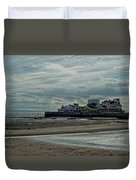 Weston - Super -mare  -  Outflow - Hdr Duvet Cover