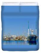 Westport Docks Color Duvet Cover