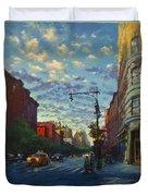 Westside Sunset No. 4 Duvet Cover