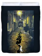 Wet Alley Duvet Cover