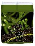 Wet Butterfly Duvet Cover