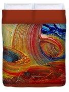 Wet Paint - Run Colors Duvet Cover