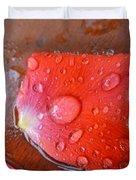Wet Petal 1 Duvet Cover