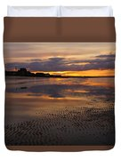 Wet Sand And Clouds 2 Duvet Cover