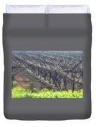 Wet Vineyard Duvet Cover