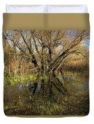 Wetlands Mirror Reflection Duvet Cover