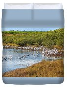 Wetlands Watering Hole Duvet Cover