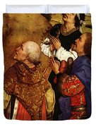 Weyden Bladelin Triptych  Right Wing  Duvet Cover