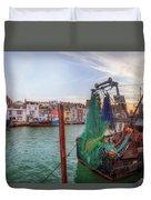 Weymouth - England Duvet Cover