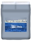Whale Tail In Cabo Duvet Cover