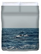 Whale Watching And Dolphins 3 Duvet Cover