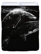 Whales Duvet Cover
