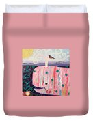 Whale's Tale The Beginning Of The End Duvet Cover