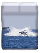 Whalewatcher Show Duvet Cover