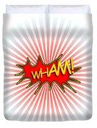 Wham Explosion Duvet Cover