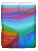 What A Colorful World Duvet Cover