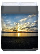 What A Sunset Duvet Cover