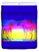 What Are We Waiting For Again  Duvet Cover