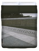 What Does Freedom Cost? Duvet Cover
