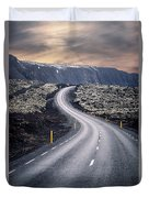 What Lies Ahead Duvet Cover