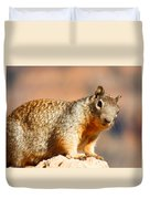 What R U Looking At ??? Duvet Cover