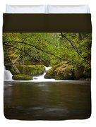 Whatcom Creek Gorge Duvet Cover