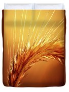 Wheat Close-up Duvet Cover