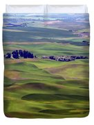 Wheat Fields Of The Palouse - Eastern Washington State Duvet Cover