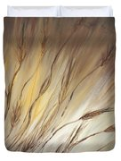 Wheat In The Wind Duvet Cover