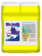 Wheat-shire Theme Park Duvet Cover