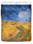 Wheatfield With Crows Duvet Cover