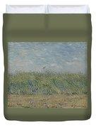 Wheatfield With Partridge Paris, June - July 1887 Vincent Van Gogh 1853 - 1890 Duvet Cover