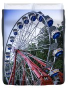 Wheel At The Fair Duvet Cover