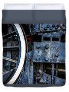 Wheel In Black II Duvet Cover