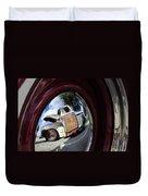 Wheel Reflections Duvet Cover