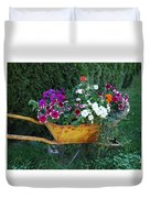 Wheelbarrow Beauty Duvet Cover