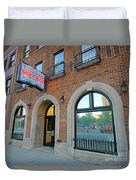 Wheeler Mission, Indianapolis Duvet Cover