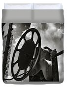 Wheels In The Sky Duvet Cover