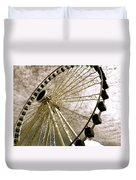 Wheels In The Wind Duvet Cover